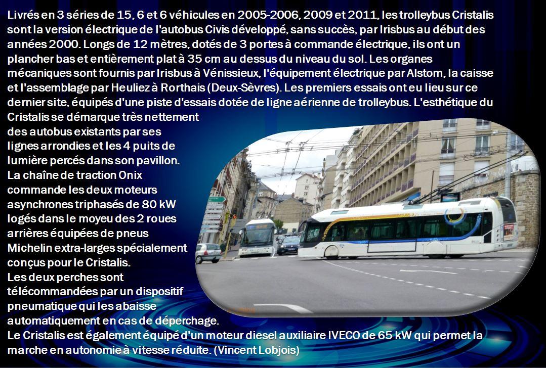 Les trolleybus Cristalis