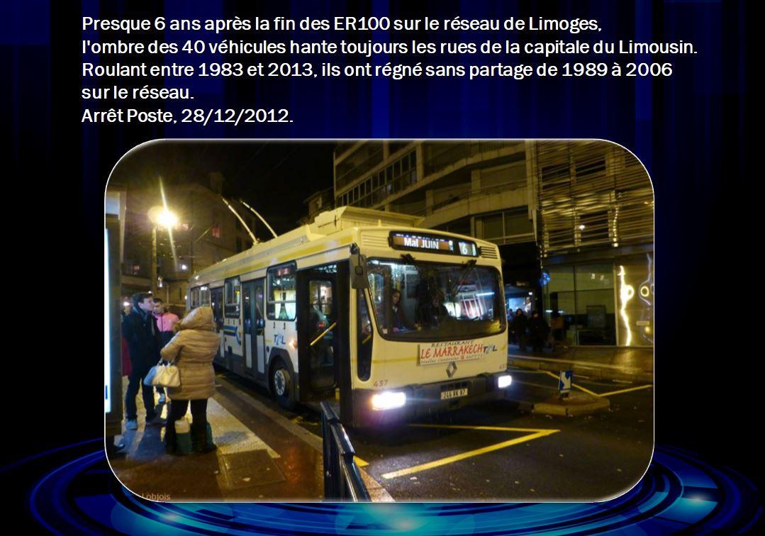 Les Fantômes ER 100 qui hantent encore les rues de Limoges