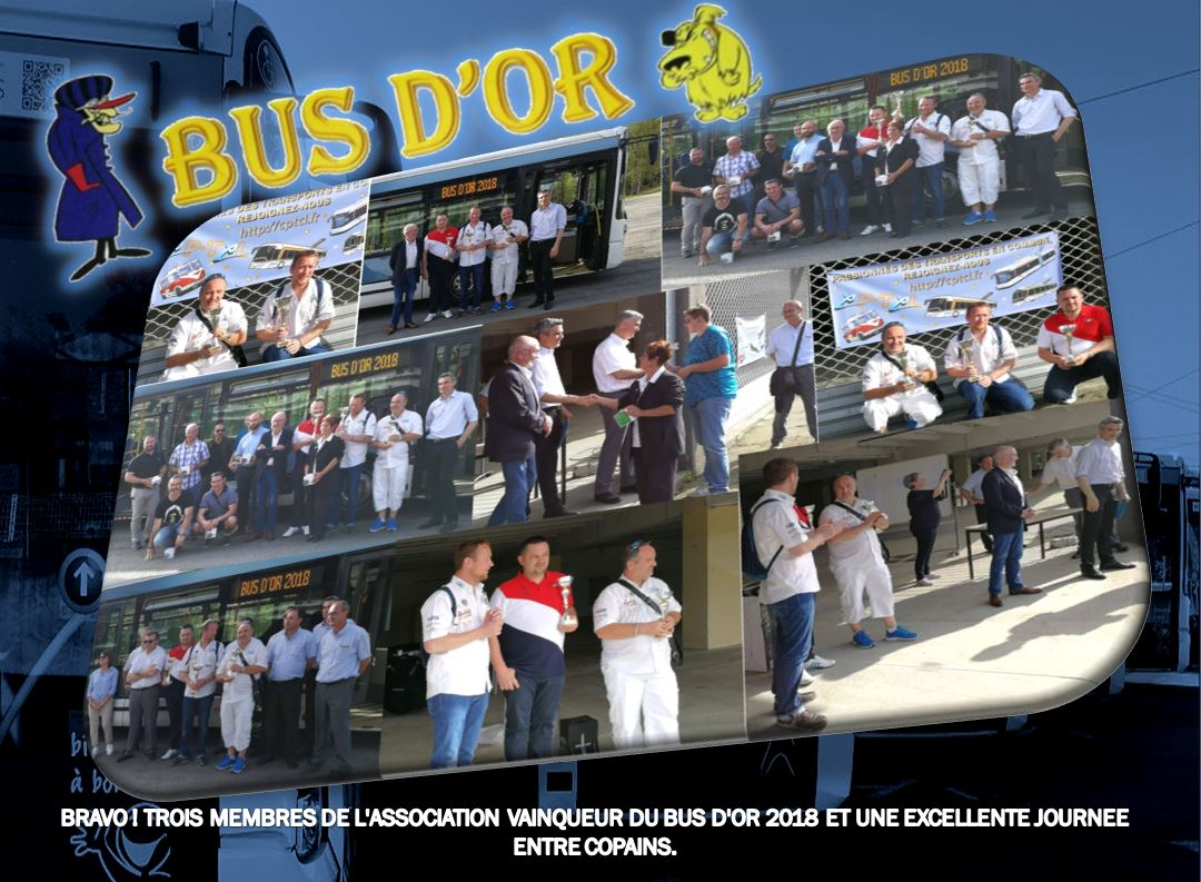 STCLM BUS D'OR 2018