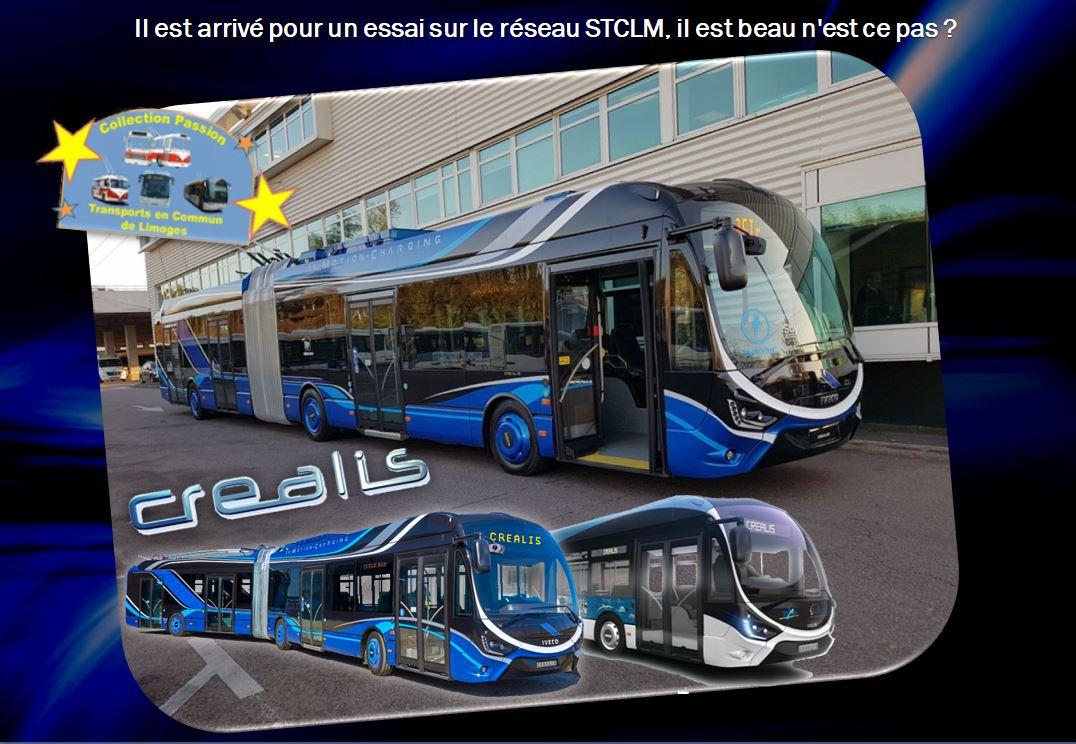 Créalis nos futurs trolleys articulés