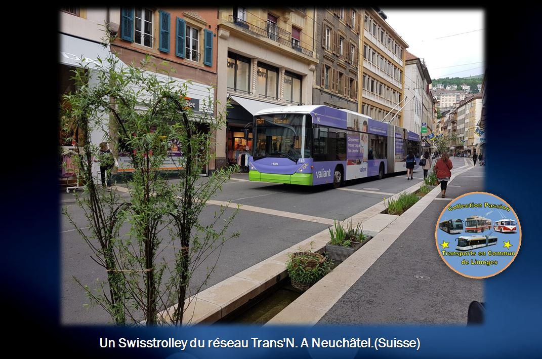 Swisstrolley à Neuchâtel (Suisse)