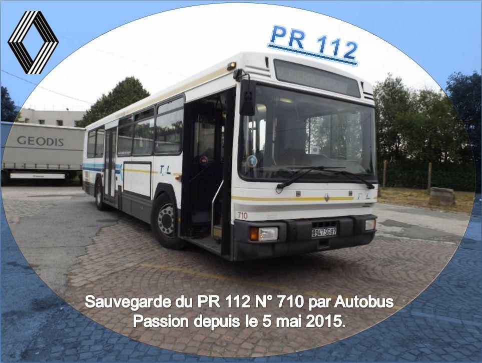 Sauvegarde d'un PR 112