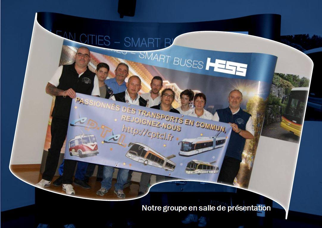 Visite de l'usine Hess (Bellach ch.)
